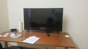 Big flare screen TV with Remote control for Sale in Berwyn Heights, MD