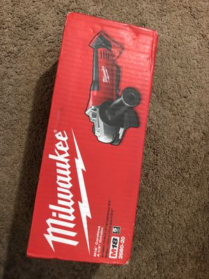 Milwaukee New grinder (tool only) Nuevo for Sale in Los Angeles, CA