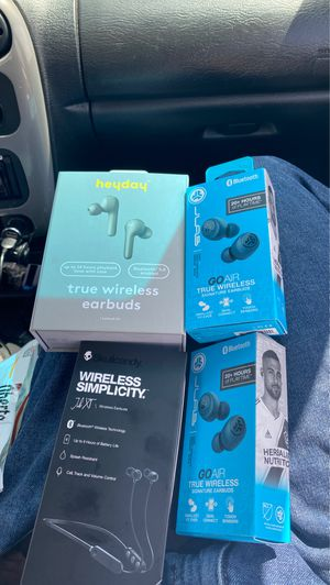 Brand new headphones and earbuds for Sale in San Diego, CA