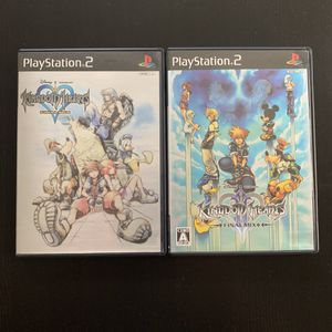 Kingdom Hearts 1&2 Final Mix and Final Mix+ for PS2 (JAPANESE IMPORT) for Sale in Las Vegas, NV