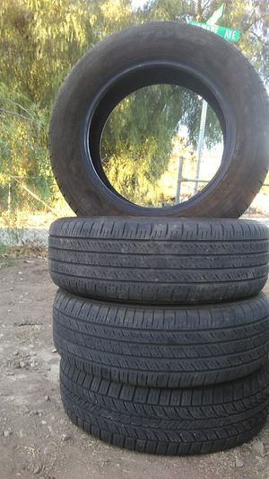 195/65/15 I only got 3 Toyo tires the other one is a General I will sale one for 20 or all 4 for 70 for Sale in Winchester, CA