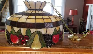 """20"""" Stained Glass Fruit Pendant Lamp for Sale in New Bedford, MA"""