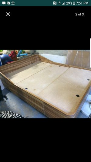 Queen Solid Wood Bed Frame with Storage for Sale in Hialeah, FL