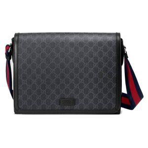 Gucci Supreme Black Messenger Bag for Sale in Seattle, WA