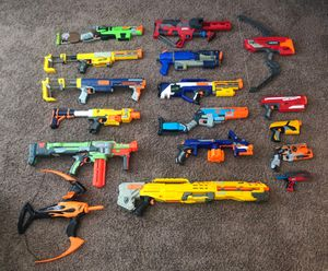 Nerf Gun Collection! Make an offer! for Sale in Fontana, CA