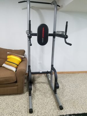 Weider 200 Power Tower with 4 Workout Stations for Sale in Wood Dale, IL