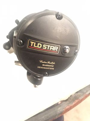Shimano TLD STAR 20/40S Conventional Fishing Reel W/ Original Box, Manual Guide for Sale in Lakewood, CA