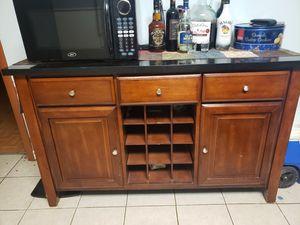 Buffet kitchen island/ bar / server for Sale in Waterbury, CT