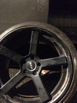 Xtx black rims 225/35/20 Nd rear 245/35/20 for Sale in Waterbury, CT