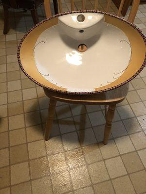 Ceramic oval undermount sink for Sale in Springfield, VA