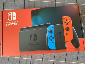 Brand new Nintendo Switch with Blue and Red Joy-con for Sale in St. Louis, MO
