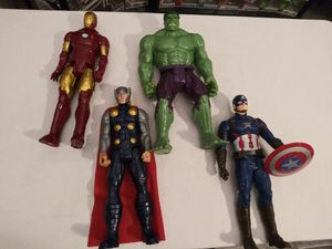 Marvel Action figures captain America for Sale in Phoenix, AZ