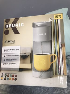 KEURIG mini .: Color Gray for Sale in Randallstown, MD