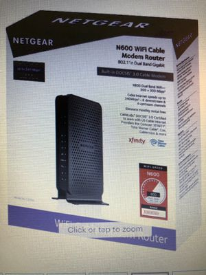 Netgear N600 - WiFi Dual Band Router for Sale in Houston, TX