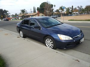 2007 HONDA ACCORD AUT RUNS STRONG for Sale in Moreno Valley, CA