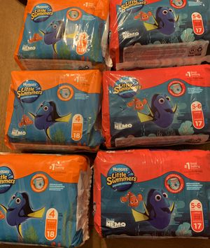 New in package huggies little swimmers swim diapers price for all for Sale in Plano, TX