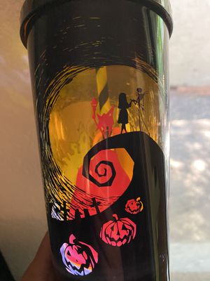 Nightmare Before Christmas Light Up Cup for Sale in Modesto, CA
