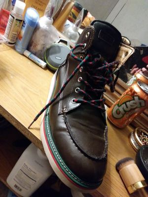 Mens gucci boots size 10 5 for Sale in Denver, CO