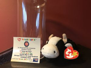 Harry Caray Commemorative Daisy the Cow Beanie Baby for Sale for sale  Arlington Heights, IL