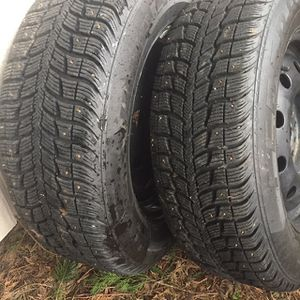 Set Of 2 Studded Snow Tires for Sale in Lacey, WA