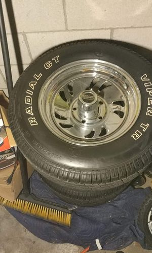 14 in American Racing rims and tires for Sale in Columbus, OH