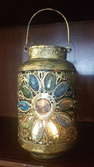 Lantern candle holder for Sale in Saint Petersburg, FL