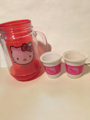 HELLO KITTY PRETEND MUG AND CUPS for Sale in New Castle, DE
