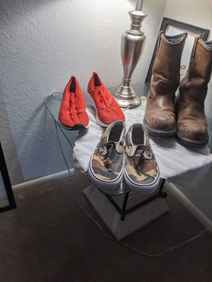 Men's shoes , RED WING SHOES 9.5 , NEW BALANCE 11.5, VANS 7.5 for Sale in West Jordan, UT