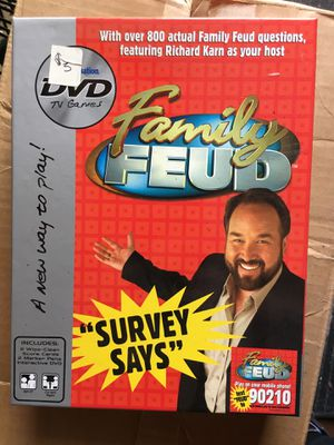 Family feud DVD edition game for Sale in Lebanon, TN