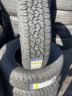 235/75/15 SET OF 4 NEW TIRES GOODYEAR for Sale in Downey,  CA
