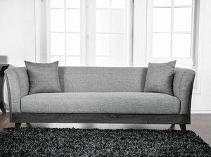CONTEMPORARY Gray Linen-Like Fabric Sofa for Sale in Pico Rivera, CA