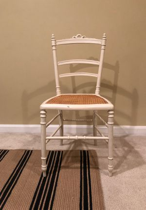 Vintage rush seat chair for Sale in Bristow, VA