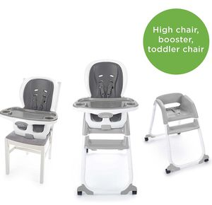 *NEW* Ingenuity SmartClean Trio Elite 3-in-1 High Chair - Slate - High Chair, Toddler Chair, Booster for Sale in Parma, OH