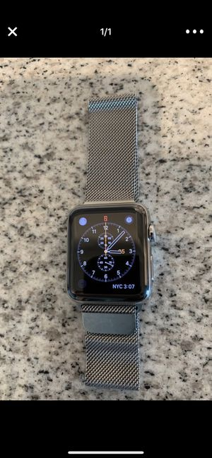 Apple Watch Stainless Steel 42mm for Sale in Tampa, FL