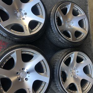 MRR Vip Rims Tires 19x10,5 +15 5x114.3 Fit Honda Accord Civic Toyota Camry Infinity Lexus Mazda Scion Subaru Ford for Sale in Santa Ana, CA