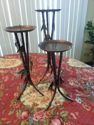 Beautiful candle holders for Sale in Chula Vista, CA