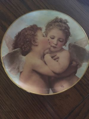 The First Kiss By William Bouguereau Cherubs Of Innocence Plate W for Sale in Clovis, CA