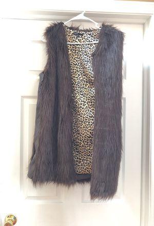 Long Brown vest for Sale in Macomb, MI