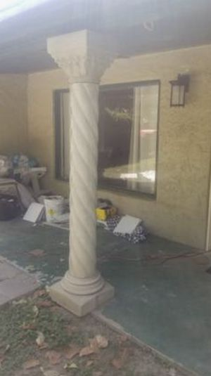 Two Regal Custom Greek Pillars for Sale in Phoenix, AZ