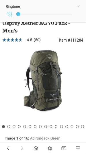 Osprey Aether 70-AG Anti Gravity Pack size small for Sale in Northglenn, CO