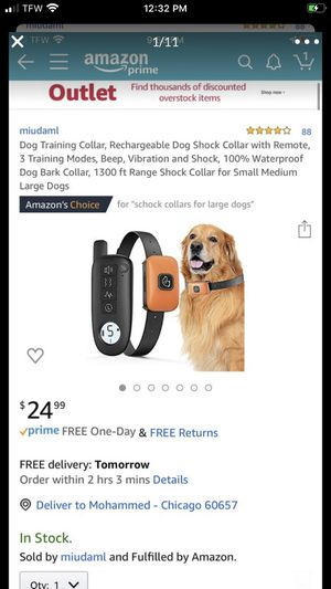 Dog collar for Sale in Chicago, IL