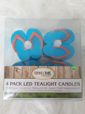 New 4 Pk LED Tealight Candles for Sale in El Cajon, CA