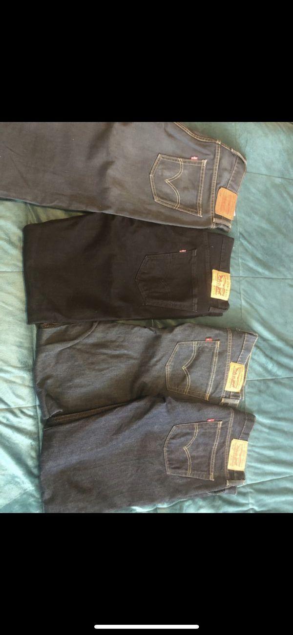 Men's Levi's Lot (4 pairs) 33 34