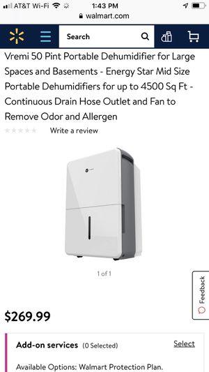 Brand New in Box Dehumidifier for Sale in Plano, TX
