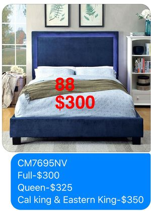 Bed. Mattress not included, but available. Assembly Required. Free Delivery. for Sale in Whittier, CA