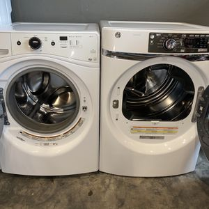 XL CAPACITY STEAM FRONT LOADING STACKABLE WASHER DRYER 100 DAYS WARRANTY for Sale in Vancouver, WA