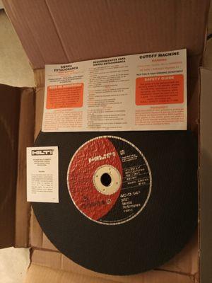 "Hilti AC-D DS - DRYWALL STUD CUTTING DISC Premium Chop saw blade 14"" x 3/32"" x 1"" SP1 for Sale in Oakland, CA"
