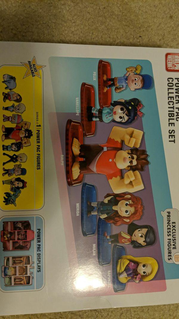 Wreck It Ralph 2 Breaks The Internet PowerPac Collectible Toy Set Figures Disney