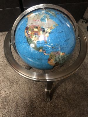 Globe made from natural stones for Sale in Garden Grove, CA