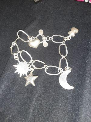 925.Silver. charm bracelet. for Sale in Anaheim, CA